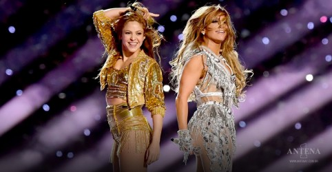Jennifer Lopez e Shakira no Super Bowl