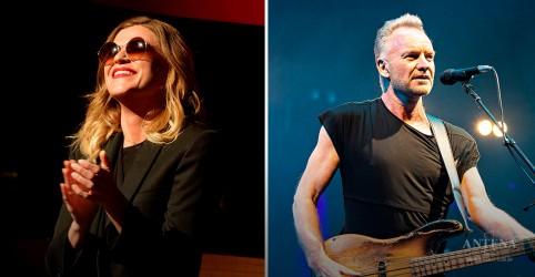 Placeholder - loading - Imagem da notícia Sting realiza dueto com Melody Gardot