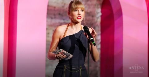 Taylor Swift é considerada a mulher da década pela Billboard