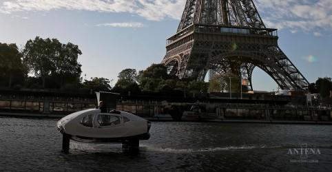 Conheça o Táxi aquático ecológico que vem sendo testado em Paris