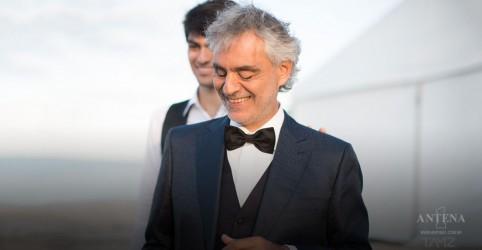 Placeholder - loading - Imagem da notícia Disco de Andrea Bocelli terá surpresas