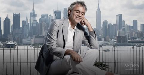 Andrea Bocelli lança novo álbum em 14 anos