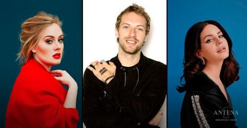 Coldplay, Adele e Lana Del Rey possuem as melhores músicas da década