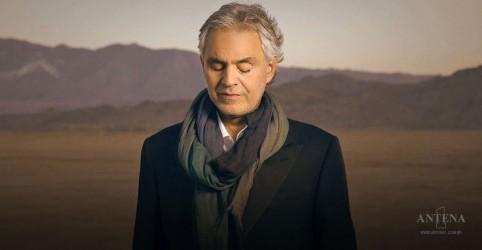 Placeholder - loading - Imagem da notícia Novo disco de Andrea Bocelli trará duetos