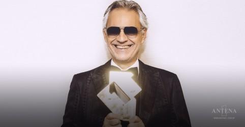 Assista ao novo clipe de Andrea Bocelli