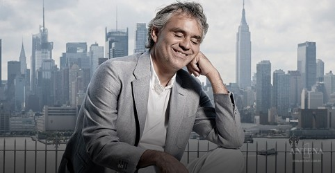Disco de Andrea Bocelli no topo das paradas