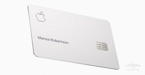 Apple apresenta seu próprio cartão de crédito de titânio