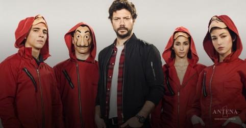 Mais uma canção da série La Casa de Papel estreia na Antena 1