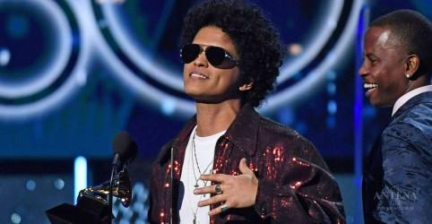 Placeholder - loading - Imagem da notícia Bruno Mars foi a estrela do Grammy