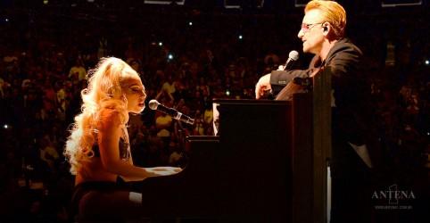 Placeholder - loading - Imagem da notícia Bono fará parceria com Lady Gaga em projeto
