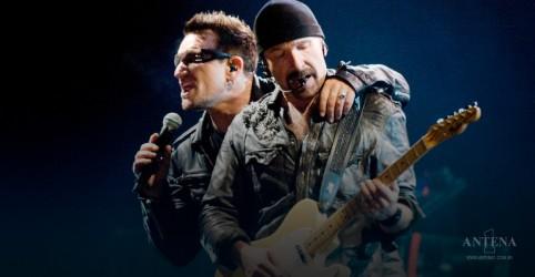 """Confira versão acústica de """"Vertigo"""" feita por Bono Vox e The Edge"""