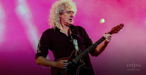 "Brian May publica prévia do novo single solo, ""New Horizons"""