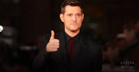 Michael Bublé alcança o topo do parada do Reino Unido
