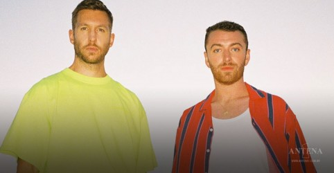 Sam Smith e Calvin Harris no topo do ranking britânico