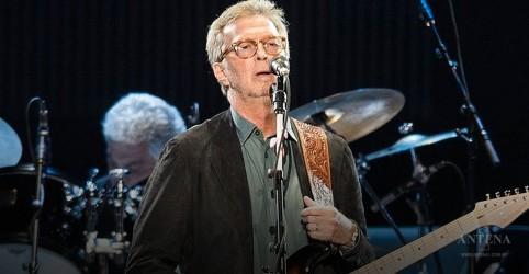 Eric Clapton lança disco com faixas natalinas