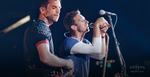 Coldplay anuncia DVD gravado no Brasil