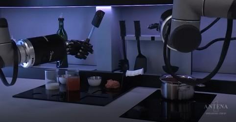 Placeholder - loading - Imagem da notícia Robôs comandam totalmente uma cozinha