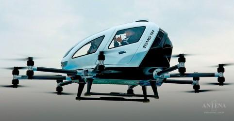 Placeholder - loading - Imagem da notícia Táxis aéreos autônomos podem estar disponíveis na China em breve