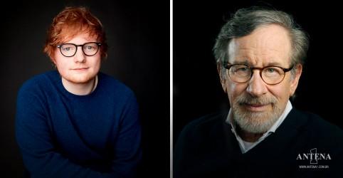 Placeholder - loading - Imagem da notícia Ed Sheeran e Steven Spielberg confirmados em evento na India