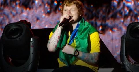 Ed Sheeran fará shows no Brasil em 2019