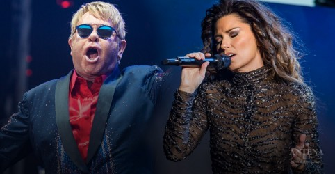 Conheça os nomes verdadeiros de artistas como Shania Twain e Elton John