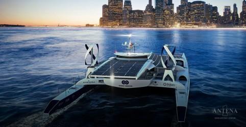 Placeholder - loading - Imagem da notícia Barco é impulsionado por energias renováveis