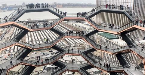 Placeholder - loading - Imagem da notícia The Vessel, a incrível escada sem fim, de Nova York
