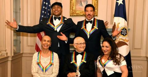 Lionel Richie e Gloria Estefan são homenageados pelo Kennedy Center