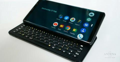 Placeholder - loading - Imagem da notícia Conheça o Fxtec Pro 1, novo smartphone com teclado