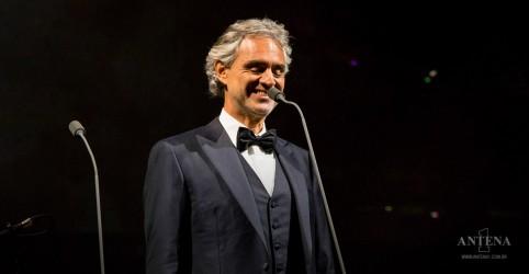 Placeholder - loading - Imagem da notícia Andrea Bocelli confirma que se curou do coronavírus