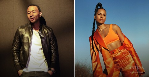 Placeholder - loading - John Legend e Alicia Keys se enfrentam no piano!