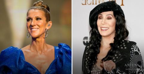 Placeholder - loading - Celine Dion e Cher participam de evento comemorativo