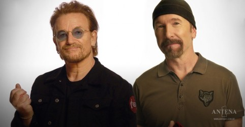 "Placeholder - loading - Bono e The Edge do U2 fazem cover de ""Stairway To Heaven"", clássico do Led Zeppelin"