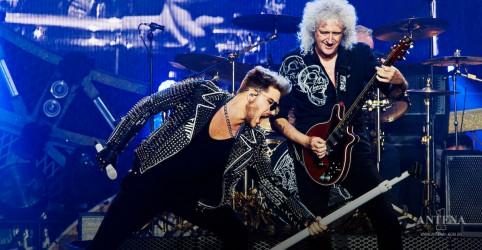 "Placeholder - loading - Imagem da notícia Queen + Adam Lambert divulgam vídeo de ""The Show Must Go On"""
