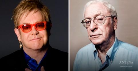 Placeholder - loading - Imagem da notícia Elton John e Michael Caine se uniram para a vacina PSA COVID-19