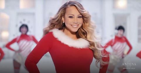 Placeholder - loading - Imagem da notícia Mariah Carey retorna com faixa natalina para a Billboard Hot 100