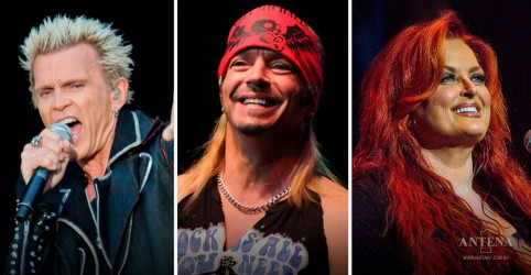 Placeholder - loading - Imagem da notícia Billy Idol e Bret Michaels  conduzem o show Big Love Benefit
