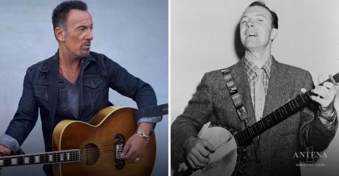 Placeholder - loading - Bruce Springsteen e Pete Seeger homenageiam canção de 2009
