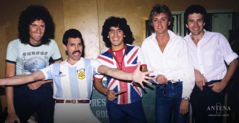 """Placeholder - loading - Imagem da notícia Maradona: Conheça a influência do """"mais humano dos deuses"""" na música"""