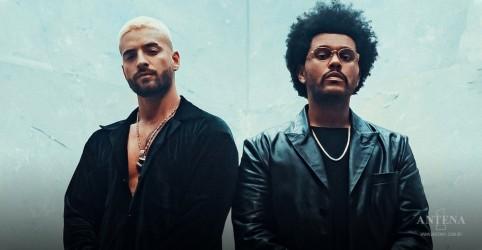 Placeholder - loading - Imagem da notícia The Weeknd lança colaboração com Maluma