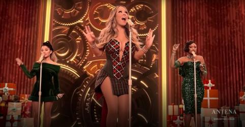 Placeholder - loading - Imagem da notícia Mariah Carey realiza novo clipe natalino