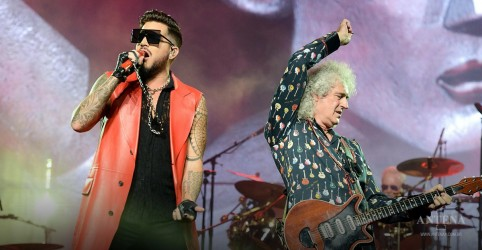 Placeholder - loading - Queen e Adam Lambert liberam vídeo de 'Somebody To Love'; assista