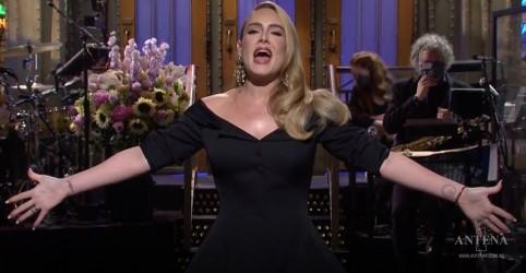 Placeholder - loading - Imagem da notícia Adele canta hits antigos em participação no SNL; assista