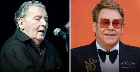 Placeholder - loading - Imagem da notícia Elton John irá participar de tributo a Jerry Lee Lewis