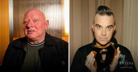 Placeholder - loading - Imagem da notícia Robbie Williams revela parceria com Shaun Ryder