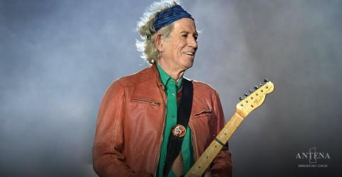 Placeholder - loading - Imagem da notícia Rolling Stones: Keith Richards lança clipe de faixa clássica
