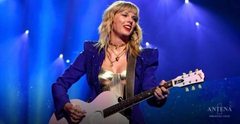 Placeholder - loading - Imagem da notícia Taylor Swift doa violão para leilão em favor de atingidos pela Covid-19