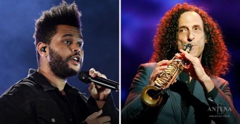 Placeholder - loading - Imagem da notícia The Weeknd lança remix de faixa com colaboração de Kenny G