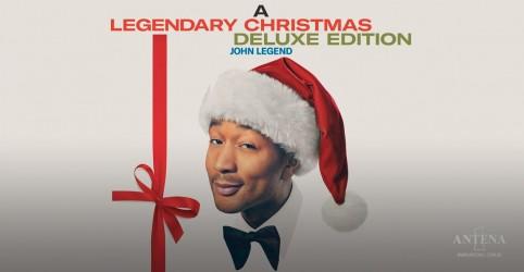 John Legend lança edição deluxe de ''A Legendary Christmas''