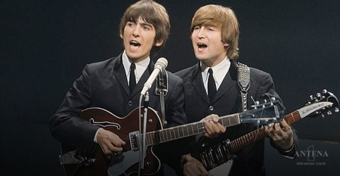 "George Harrison e John Lennon em vídeo inédito de ""How Do You Sleep?"""